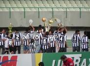 Antes de CSC x Atl-PR, campeões do Sub-16 deram volta olímpica no Castelão