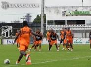 Ceará encerra preparação para jogo contra o Guarany (S)