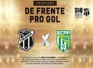 """Ceará x Vitória da Conquista: Participe do """"De Frente pro Gol"""""""