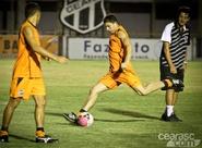 Ceará finaliza preparação para jogo contra o Horizonte