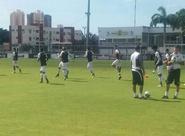 Vozão faz último treino antes de embarcar para Santa Catarina
