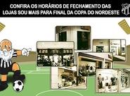 Confira os horários de fechamento das Lojas Sou Mais Ceará para Final da Copa do Nordeste