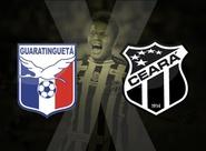 Ceará vai treinar nesta manhã, em Guaratinguetá/SP