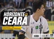 Futsal Adulto: No Ginásio Domingão, Ceará visita o Horizonte pelas semifinais do Campeonato Cearense