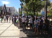 Praça do Ferreira cheia de alvinegros pra ver o novo manto do Vozão