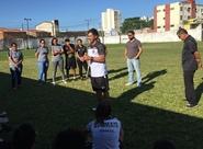 Sérgio Alves comanda primeiro treinamento com equipe feminina