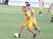 Alvinegros participam de um treino técnico/tático