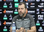 Novo técnico do Vovô, Enderson Moreira, é apresentado à imprensa em Porangabuçu