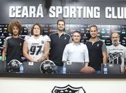 Ceará apresentou oficialmente parceria com Ceará Caçadores para a disputa do Liga Brasileira de Futebol Americano