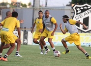 Ceará encerra os preparativos para o jogo de amanhã