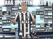 Em apresentação, Calyson fala em oportunidade de ouro sobre disputar Série A pelo Ceará