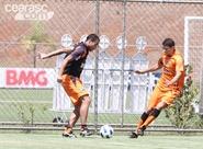 Rachão recheado de gols encerra preparação do Vozão, em Minas Gerais