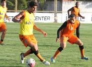 Ceará encerra preparação para o jogo contra o Tiradentes