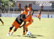 Mancini finaliza preparação com treino tático, em Porangabuçu