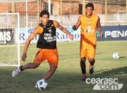 Atletas não relacionados para Ceará x Grêmio treinaram nesta tarde