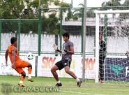 Ceará voltou aos treinamentos na manhã de hoje