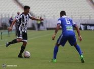 Pelo Estadual, Ceará sai atrás, mas arranca empate contra o Uniclinic no Castelão