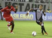Ceará sofre virada, mas reage no fim e empata com o Boa Esporte