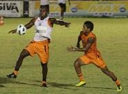 Focados no Corinthians, alvinegros treinaram nesta tarde