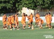 Ceará finaliza preparação para duelo contra o Corinthians