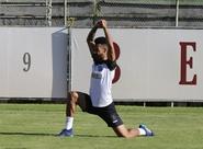 Nas Laranjeiras, Ceará realiza treino apronto para partida contra o Flamengo