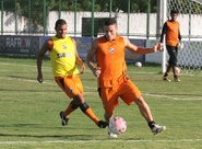 Alvinegros encerram preparação para jogo contra o Icasa