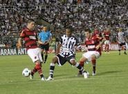 Ceará luta, mas perde para o Flamengo, no PV