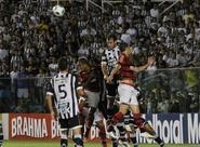 Confira os lances da partida entre Ceará 0 x 1 Flamengo