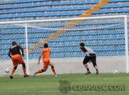 Mancini comanda treino coletivo no estádio Presidente Vargas