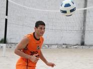Visando a partida diante do Santos, atletas do Ceará iniciam semana de treino