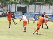 Alvinegros finalizam preparação para jogo de amanhã