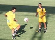 PC Gusmão comanda treino técnico com o grupo