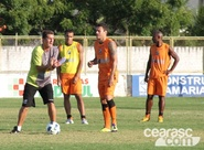 Alvinegros treinam no Vovozão focados no duelo diante do Internacional