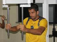 Por conta das fortes chuvas, Ceará realiza treino na academia