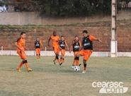 Ceará treinou na tarde desta sexta-feira, em Macaé/RJ