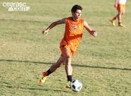 Dimas comanda primeiro treino coletivo antes de encarar o Bahia