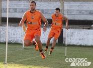 Ceará se reapresenta e já pensa no duelo do próximo domingo