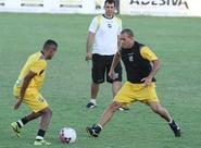 Ceará encerra a preparação para o jogo contra o Boa Esporte