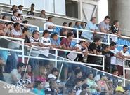Em treino, jogadores receberam apoio do torcedor no PV