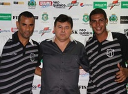 Paulo Sérgio e Bruno são apresentados à imprensa