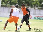 Elenco alvinegro finaliza preparação para jogo contra o Fluminense