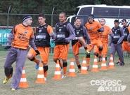 Alvinegros treinaram em Curitiba/PR, no Janguitão