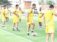 Alvinegros participam de treinos físicos nesta tarde
