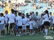 Criançada alvinegra faz a festa para o Ceará, no PV