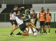 Em Porangabuçu, elenco alvinegro se reapresenta e inicia preparação para partida contra o Corinthians
