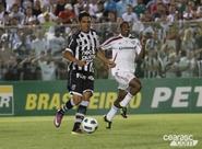 Na estreia de Dimas Filgueiras, Ceará perde para o Fluminense