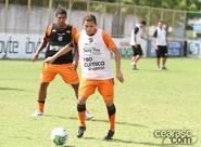 Alvinegros participam de primeiro treino técnico, no Vovozão