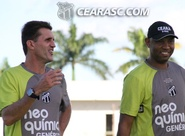 Mancini comanda treino técnico em Porangabuçu