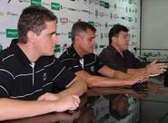 Jorginho e Franco Rafael são apresentados à imprensa
