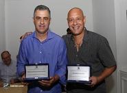 Ex-lateral João Marcelo da Costa e o treinador Marcelo Chamusca são homenageados pelo Conselho Deliberativo